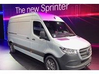 Mercedes-Benz Unveils Next-Gen Sprinter Van