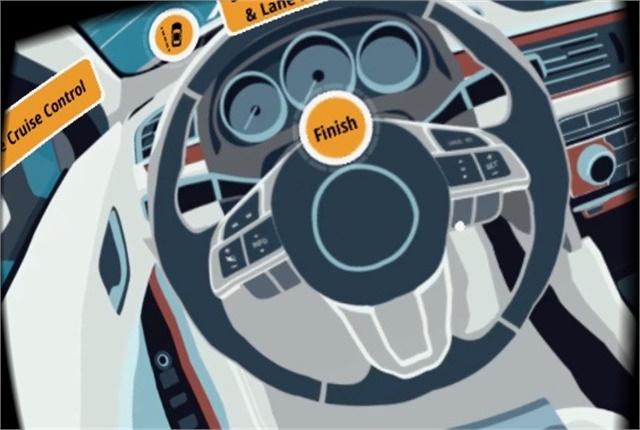 Screen shot courtesy of CarTech VR360 app.