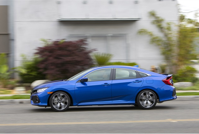 Photo of Honda Civic courtesy of Honda.