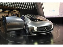 Mercedes-Benz Shows Self-Driving Fuel-Cell Sedan Concept