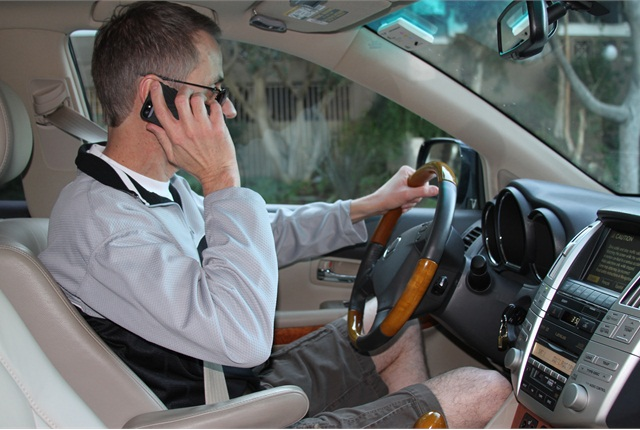 At any moment, an estimated 9 percent of drivers are talking on cell phones, according to the National Safety Council. This includes handheld and hands-free phones.