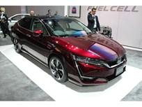 Honda Shows Clarity Fuel Cell Sedan