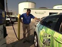 Ohio Organic Recycler Testing Bi-Fuel Impala