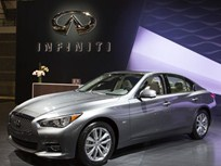 Infiniti Shows 2016 Q50 Engines