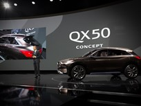 Infiniti Shows OX50 Mid-Size Crossover Concept