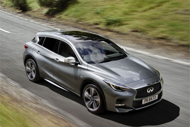 Photo of Q30 courtesy of Infiniti.