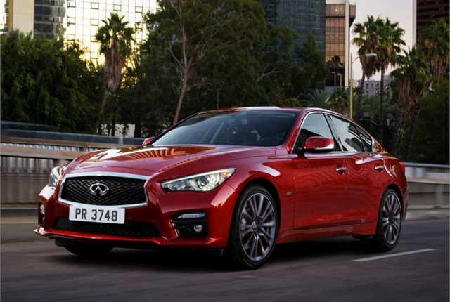 Photo of 2016 Q50 courtesy of Infiniti.