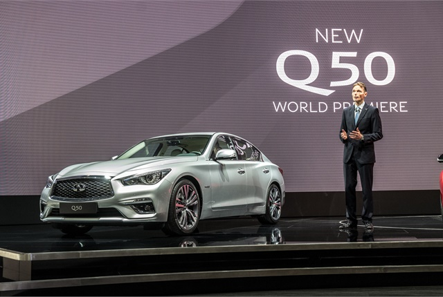 Photo of the 2018 Q50 courtesy of Infiniti.
