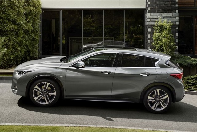 Photo of 2017 QX30 courtesy of Infiniti.