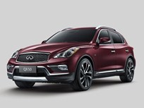 2016 Infiniti QX50 Mid-Cycle Update Extends Length