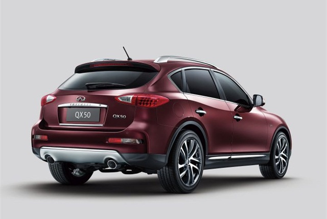 Photo of QX50 courtesy of Infiniti.