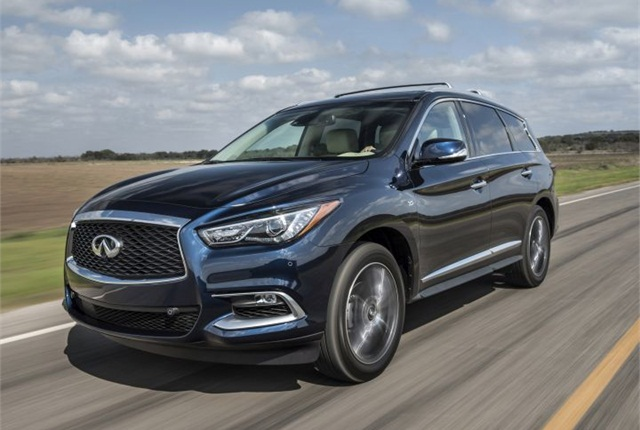 Photo of 2016 QX60 courtesy of Infiniti.