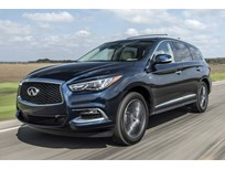 2017 Infiniti QX60 Priced at $44,095