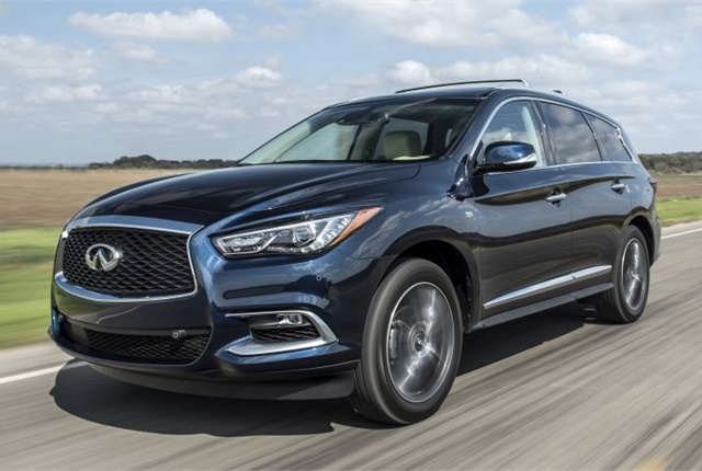 Photo of 2017 QX60 courtesy of Infiniti.