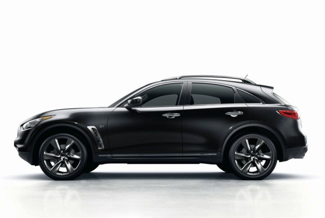 Photo of QX70 courtesy of Infiniti.