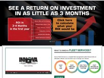 Innova Fleet Services Showcases Fleet Management System