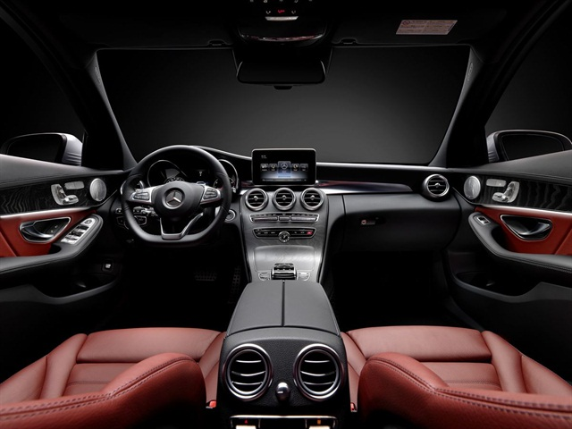 The interior features a new one-piece center console panel.