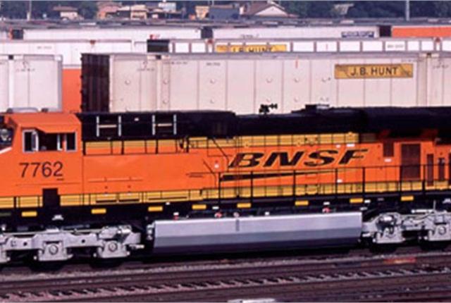 J.B. Hunt's intermodal segment saw loads grow by 12%.
