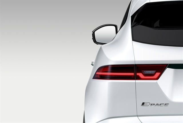 Photo of 2018 E-Pace courtesy of Jaguar Land Rover.