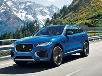 Jaguar Unveils 2017 F-Pace Luxury Crossover
