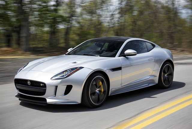 Photo of 2018 F-Type courtesy of Jaguar.