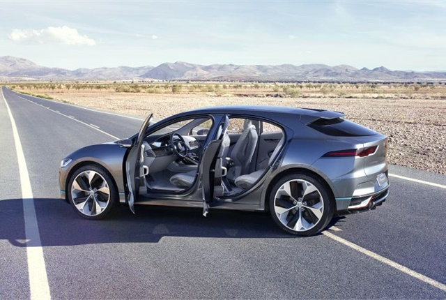 Photo of the I-Pace courtesy of Jaguar Land Rover.