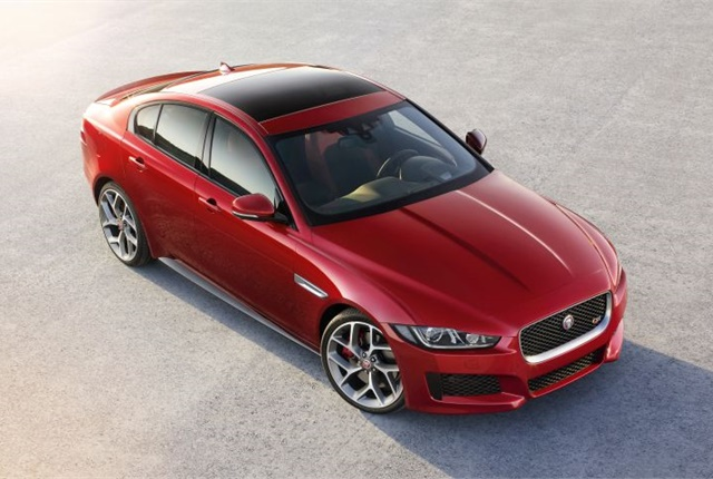 Photo of 2017 XE courtesy of Jaguar Land Rover.