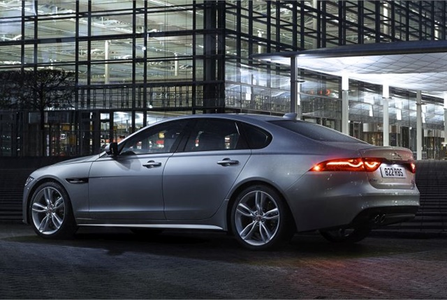 Photo of Euro-spec 2017 Jaguar XF courtesy of JLR.