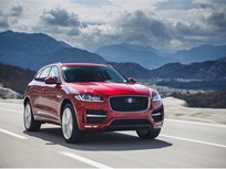 Jaguar F-Pace SUVs Recalled for Instrument Cluster