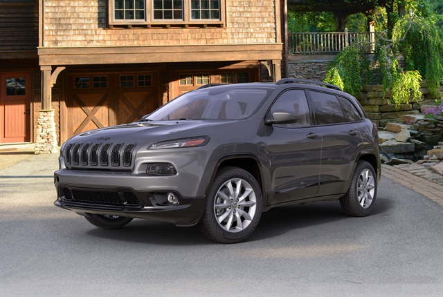 Photo of 2018 Jeep Cherokee Latitude courtesy of FCA.