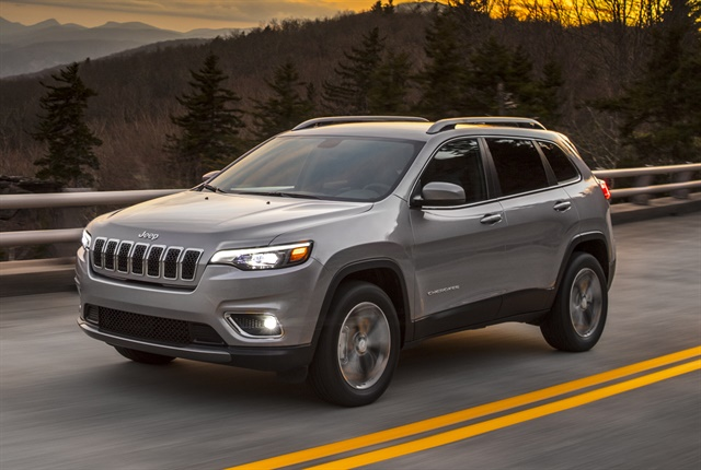 Photo of 2017 Jeep Cherokee courtesy of FCA.