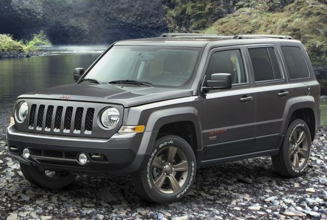 Photo of 2017 Jeep Patriot courtesy of FCA.