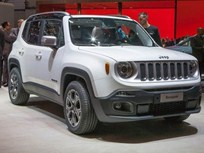 Global 2015 Jeep Renegade SUV Debuts in Geneva