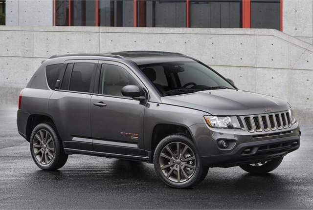 Photo of Jeep Compass courtesy of FCA.