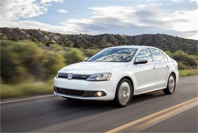2014 Jetta Hybrid. Photo: Volkswagen.