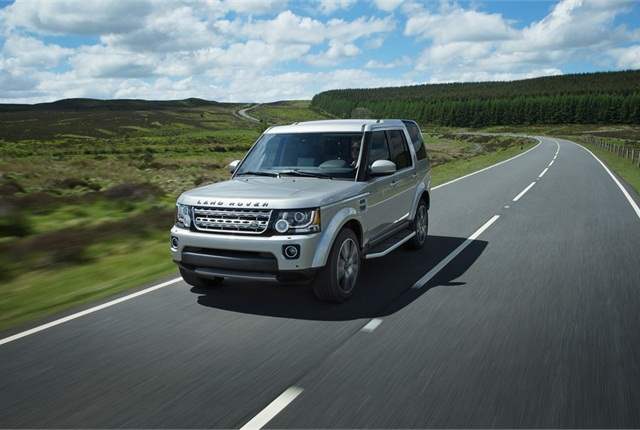 Photo of Land Rover LR4 courtesy of Land Rover.