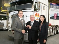 PACCAR Australia Delivers its 50,000th Truck