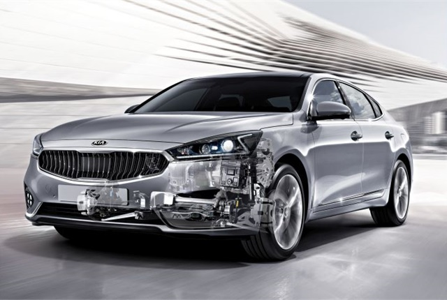 Photo of 2017 Cadenza with 8AT courtesy of Kia Motors.