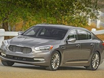 Kia's K900 Adds V-6 Powertrain for 2016