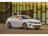 2016 Kia Optima Gets 4-Cyl., Dual Clutch Transmission