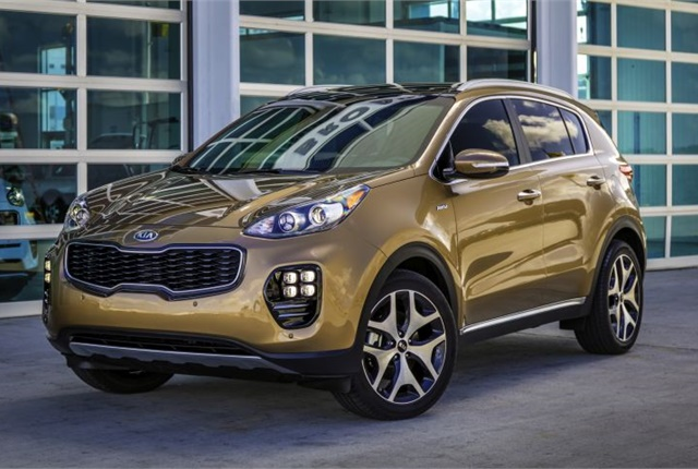 Photo of the 2017 Sportage courtesy of Kia.
