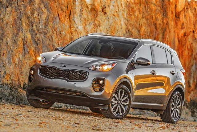 Photo of Kia Sportage courtesy of Kia Motors.