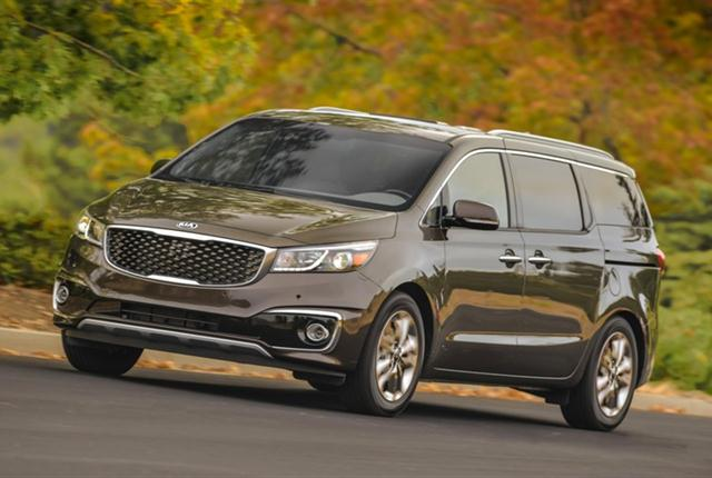 Photo of Kia Sedona courtesy of Kia Motors America.