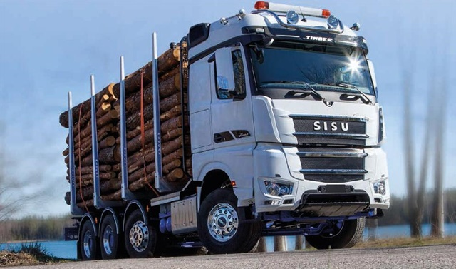 <p><strong>The new hybrid-electric drive system is designed to work with Mercedes Benz diesel-powered Sisu Polar truck models. </strong><em>Photo: Sisu Auto</em></p>