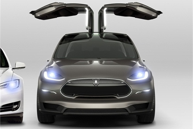 Photo of Model X courtesy of Tesla Motors.