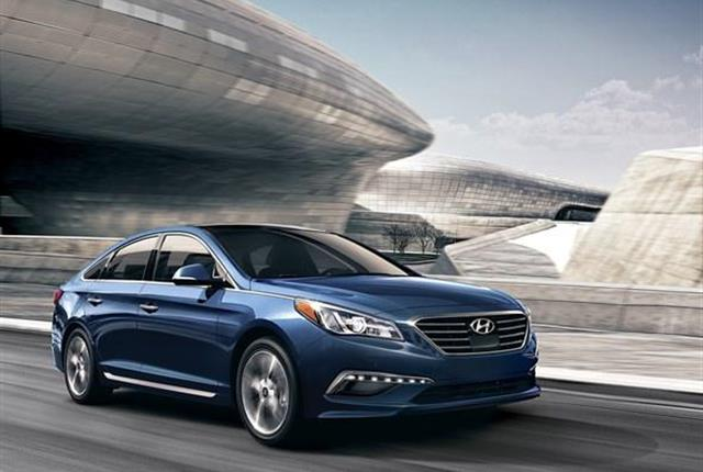 Image of Hyundai Sonata courtesy of Hyundai.