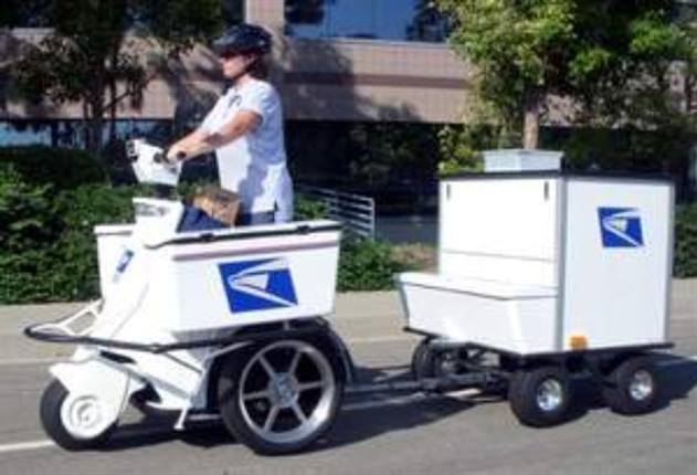 Usps To Cut Fuel Costs With Electric Stand Up Vehicles