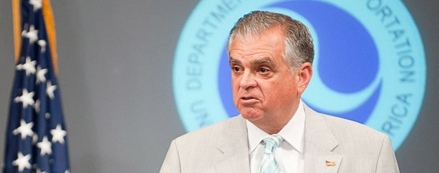 Transportation Secretary Ray LaHood will stay only until a successor is found.