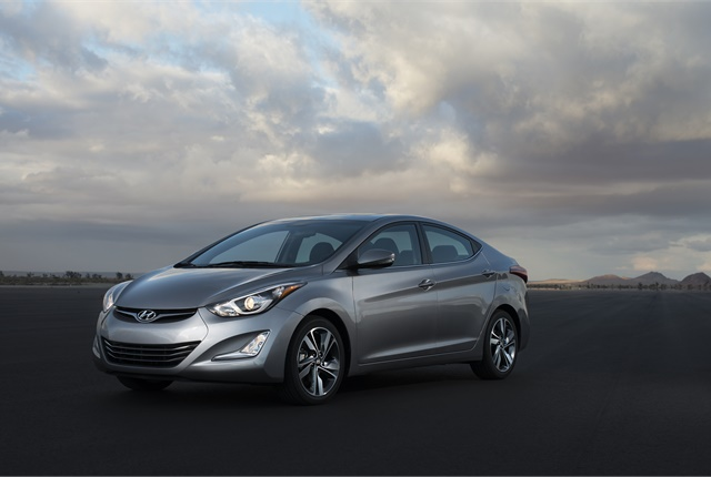 Photo of Hyundai Elantra courtesy of Hyundai.