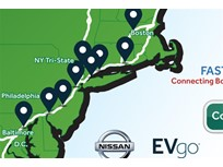 Nissan Building Northeast EV Charging Network Along I-95